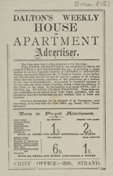 Advert For 'Dalton's Weekly Advertiser', Periodical